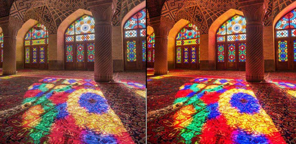 Preciosos colores los de los paneles OLED de LG, como siempre
