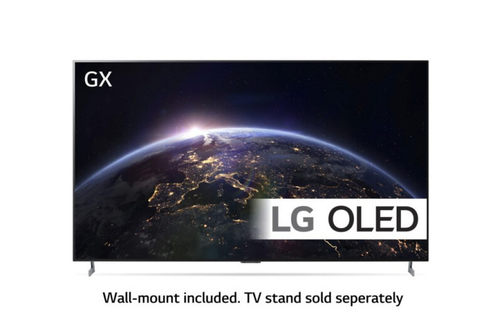El aspecto que muestra el televisor LG OLED65GX6LA es el siguiente