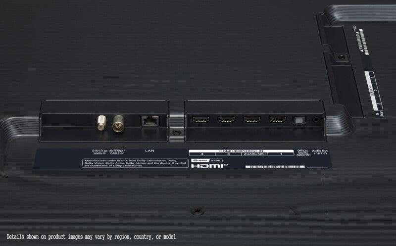 LG OLED77GX6LA, conexiones