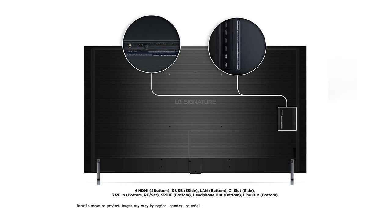 LG OLED77ZX diseño
