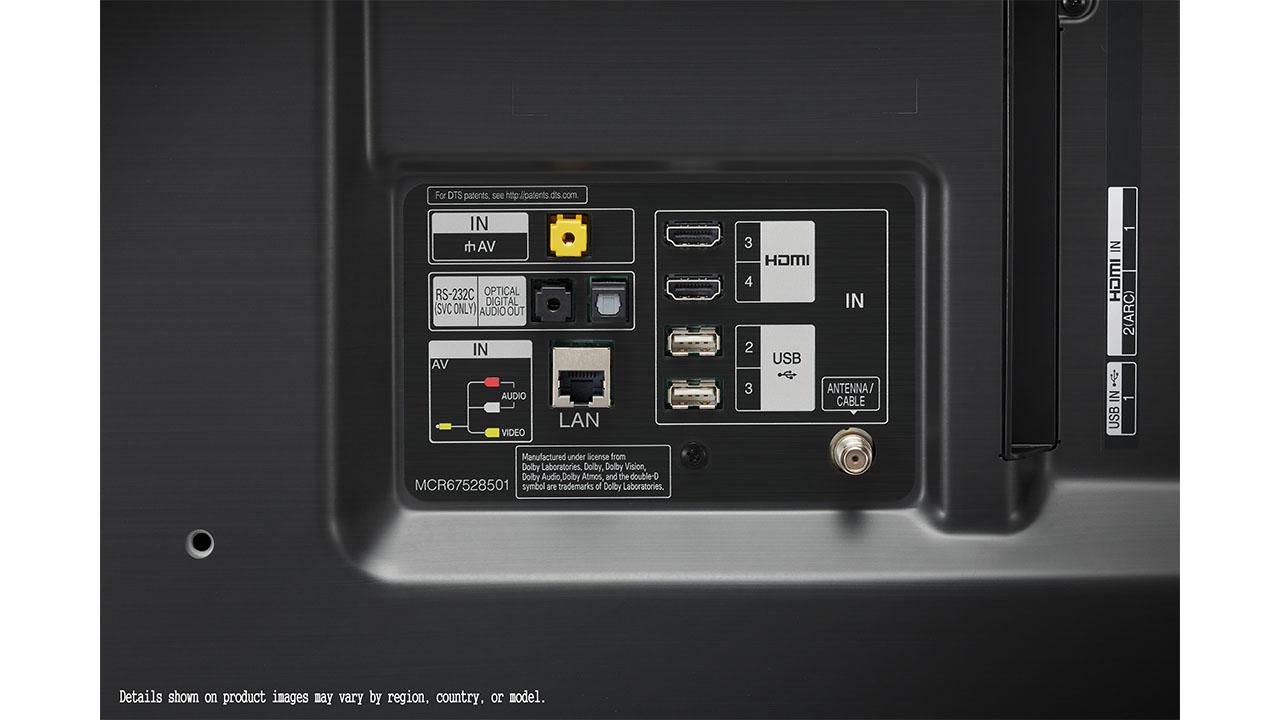 LG 55NANO81 diseño