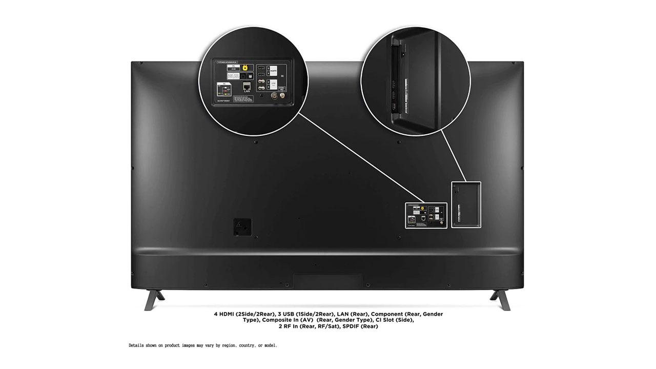 LG 86UN8500 diseño