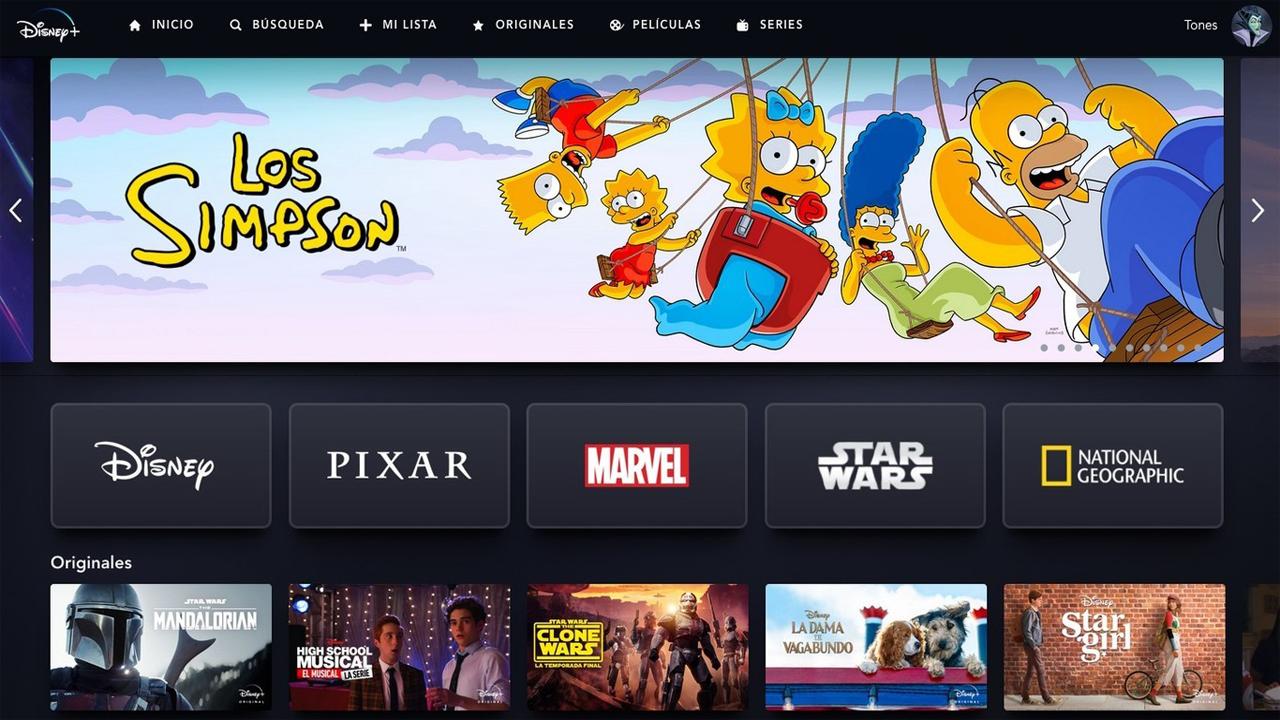 elegir la calidad de Disney+ en el móvil