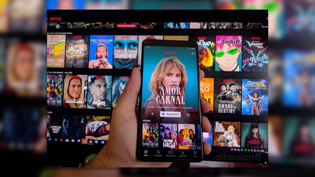 Ver Netflix en tu móvil