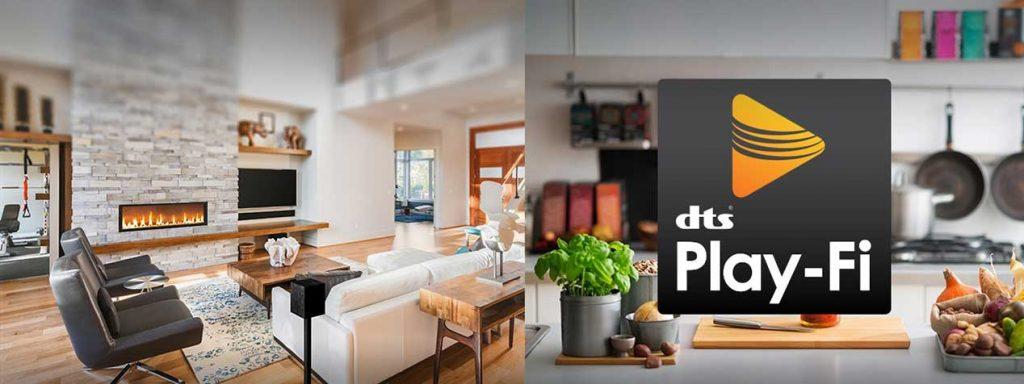 Un hogar conectado y con el mejor sonido gracias a DTS Play-Fi