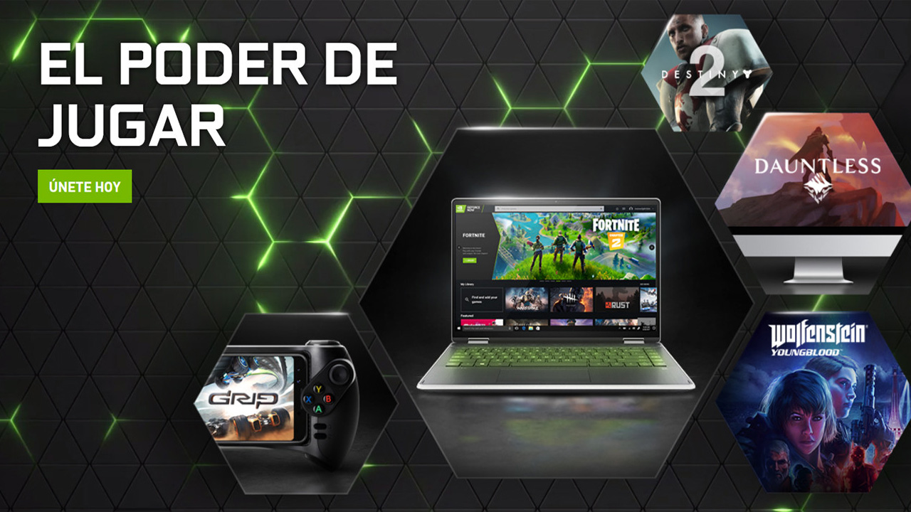 GeForce NOW en teles Android