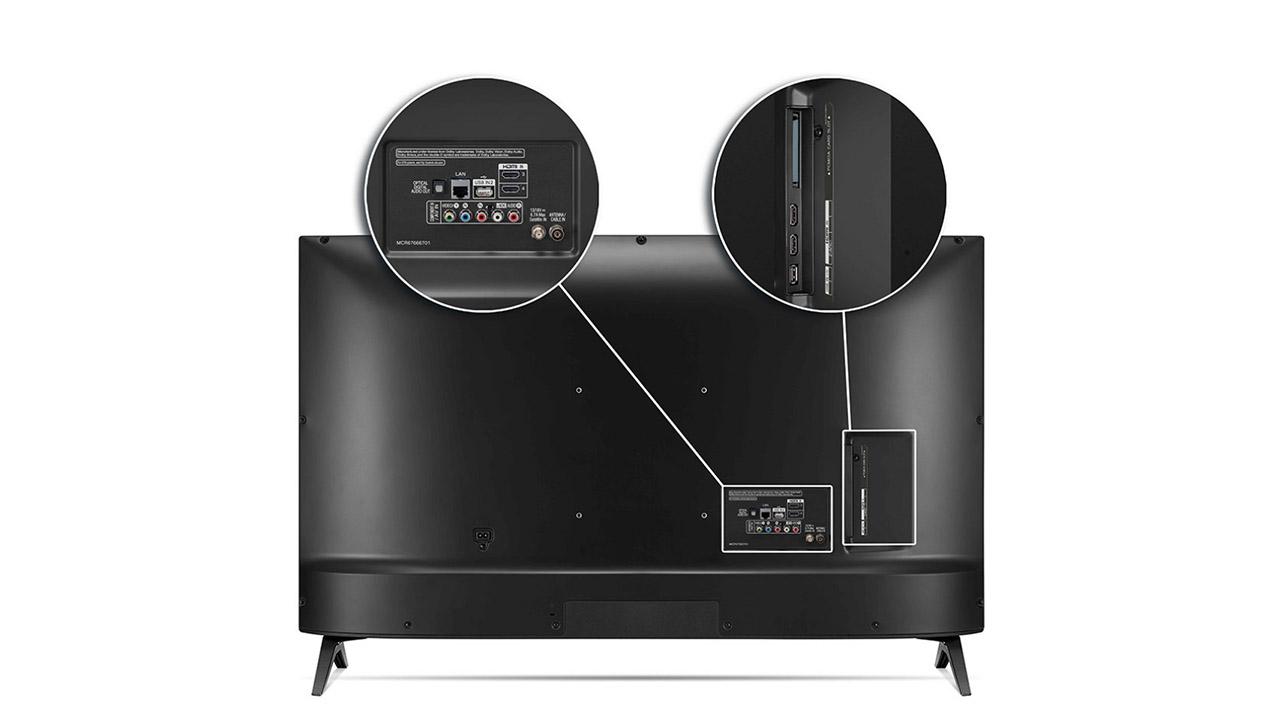 LG 50UN8000 diseño