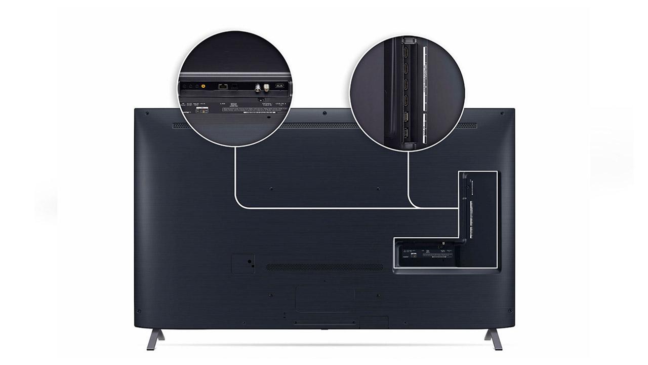 LG 55NANO95 diseño