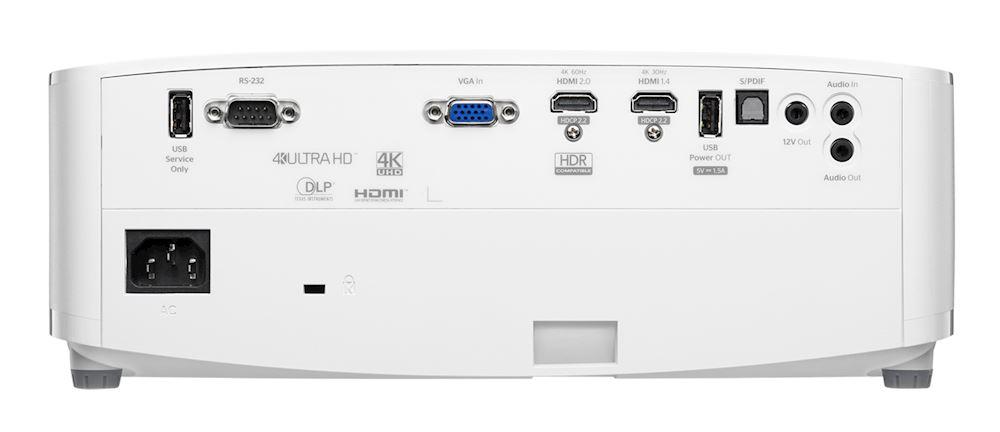 Optoma UHD30 - Conexiones