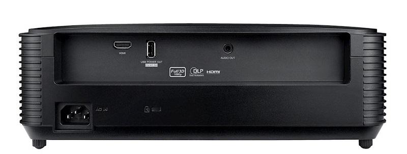 Optoma HD28e, conexiones