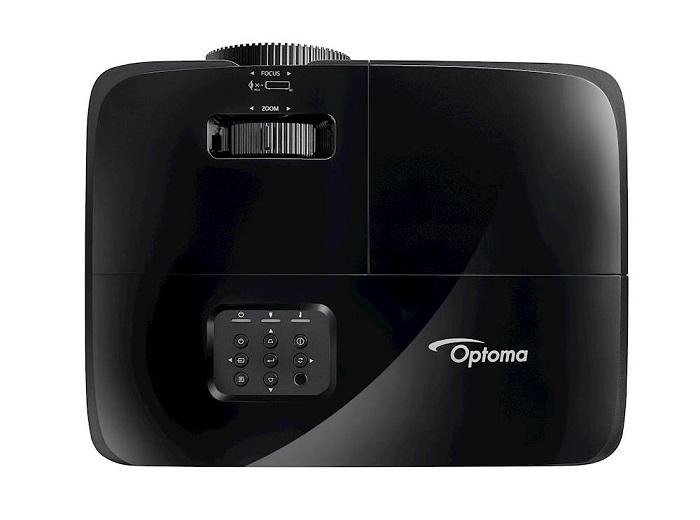 Optoma HD28e, parte superior