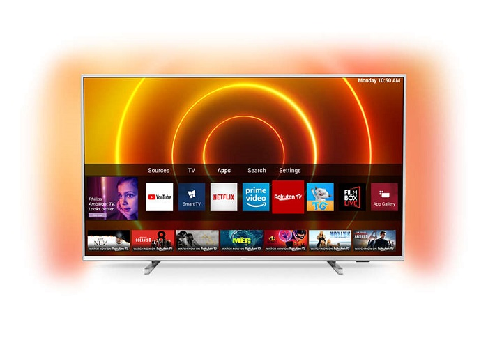 Philips 50PUS7855, Smart TV