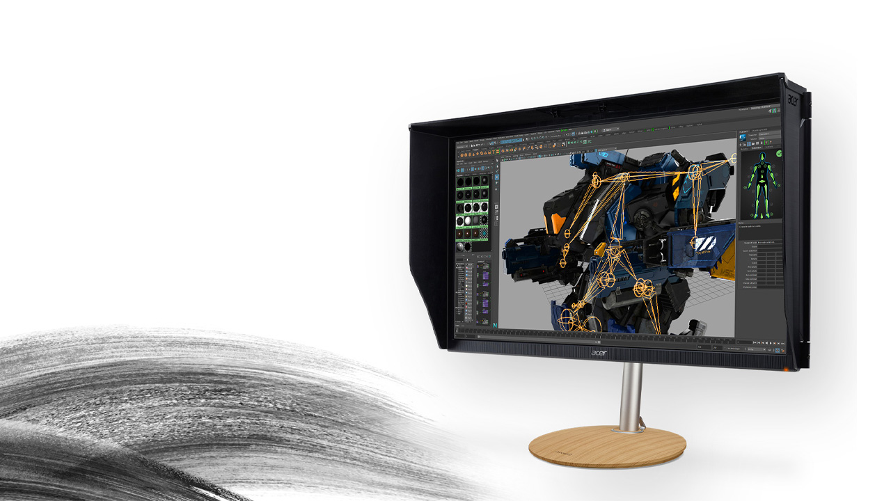 monitores con color perfecto