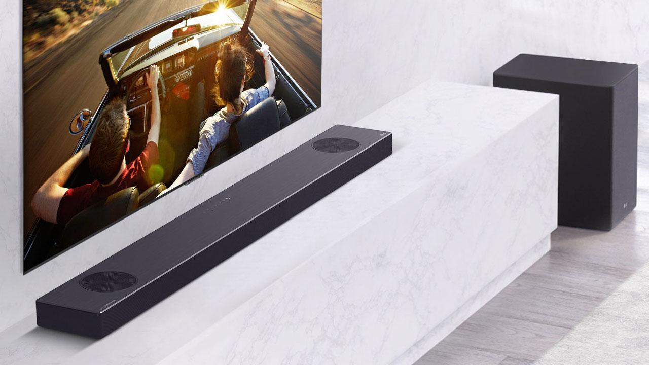 LG SN9YG, barra de sonido con Meridian Audio y funciones de sobra