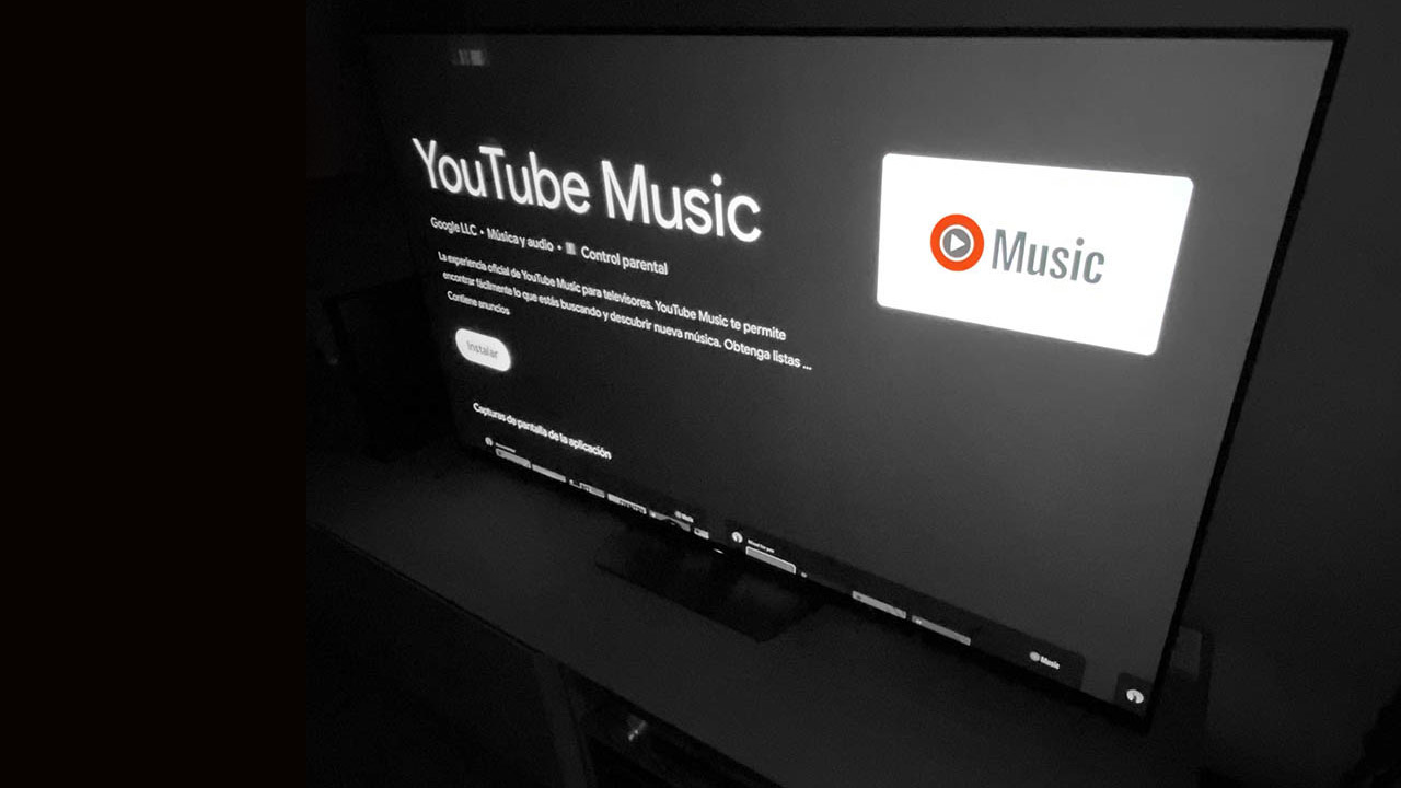 YouTube Music en Android TV