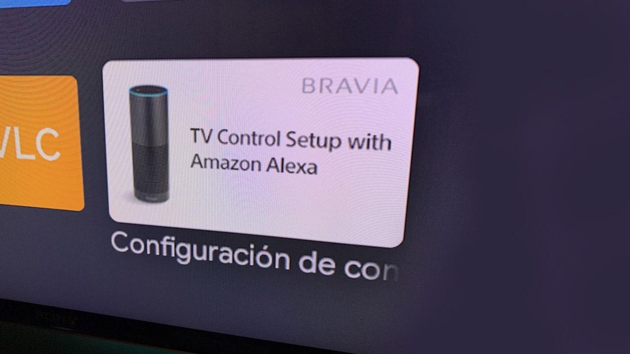 Configurar Alexa en un smartTV