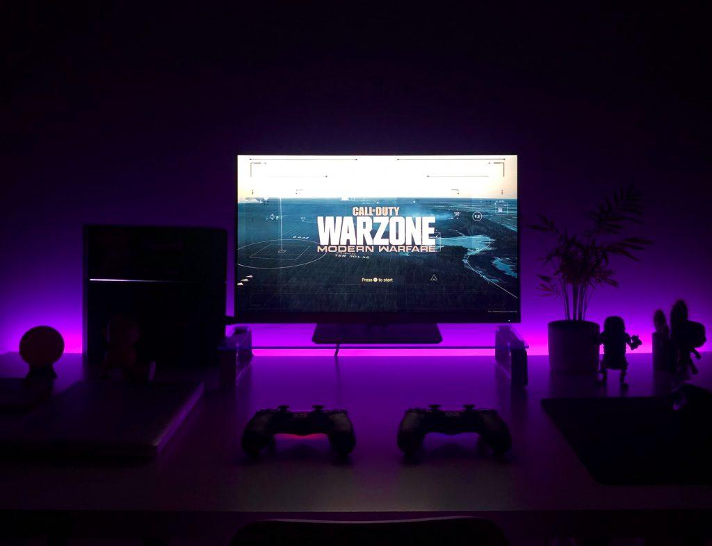 modo de imagen del televisor videojuego
