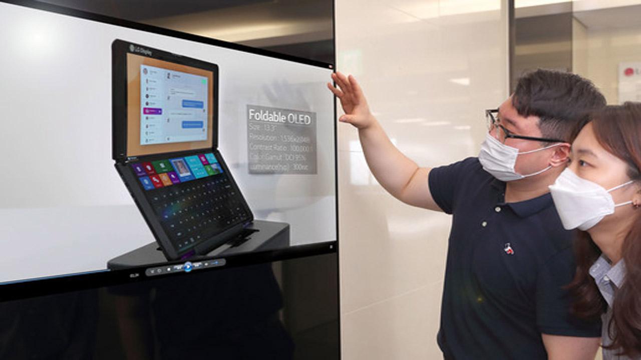 pantallas transparentes y flexibles