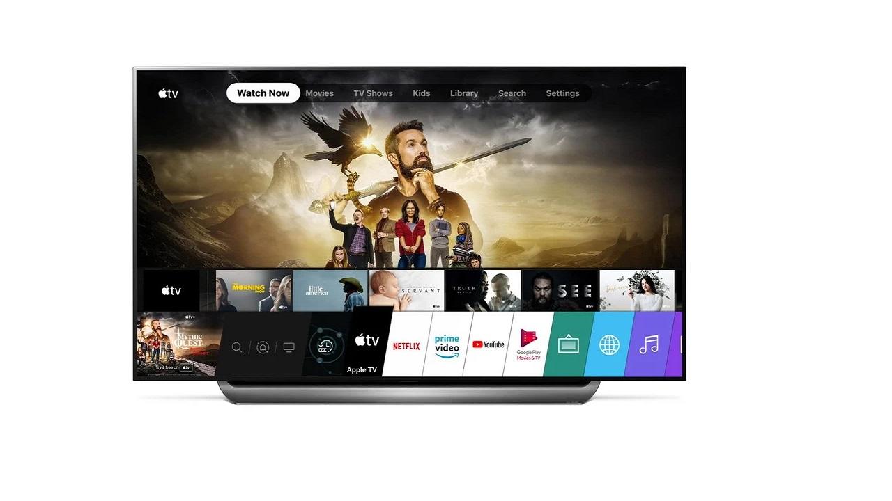televisores lg 2018 apple tv