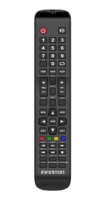 Infiniton INTV-65MU2000, mando a distancia