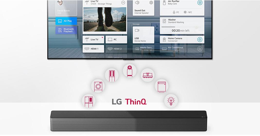 LG SNH5 - Centro de domótica