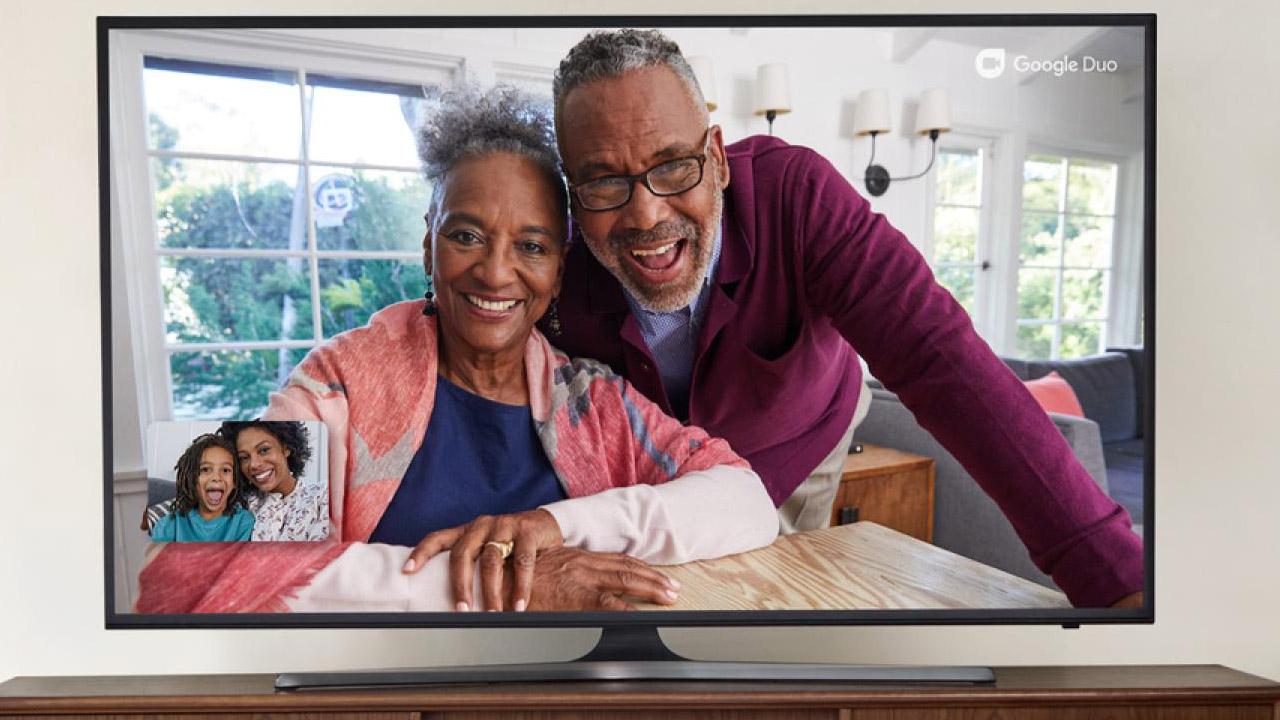 llamar con Google Duo en Android TV