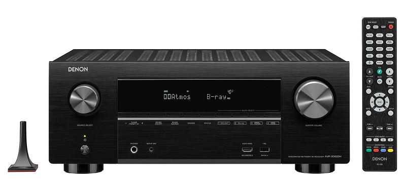 Denon AVR-X3600H, mando a distancia