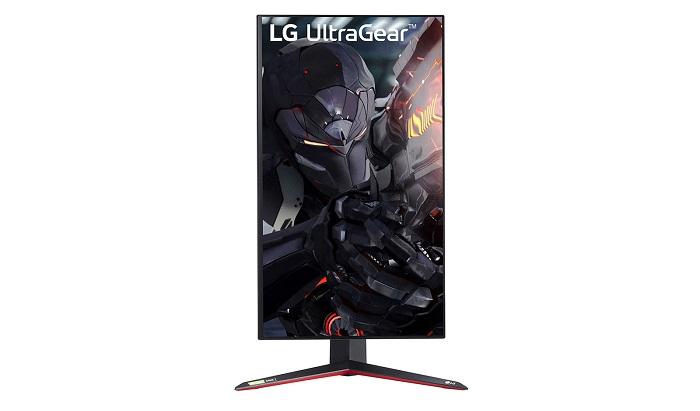 LG 27GN950, vertical