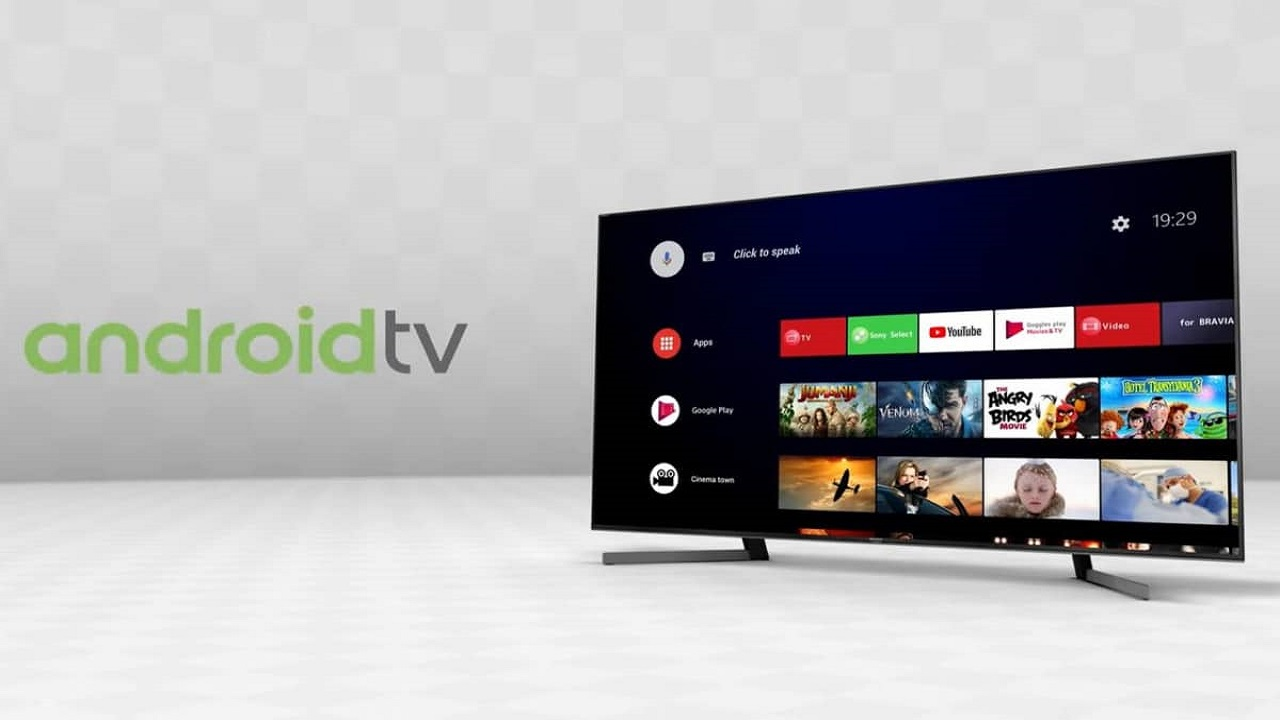 android 9 en televisores Sony