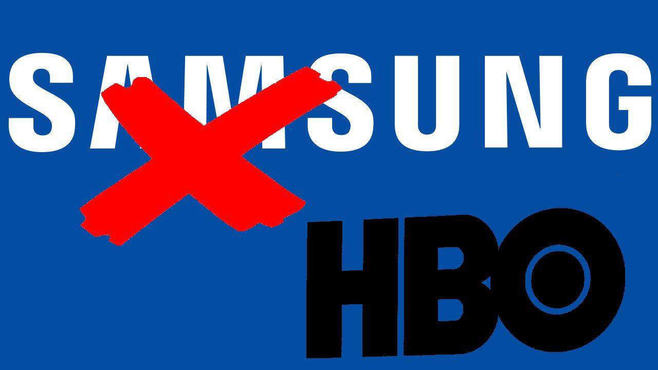 veto de HBO en los televisores Samsung