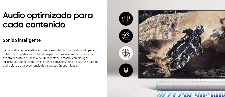 Samsung HW-S41T - Sonido inteligente