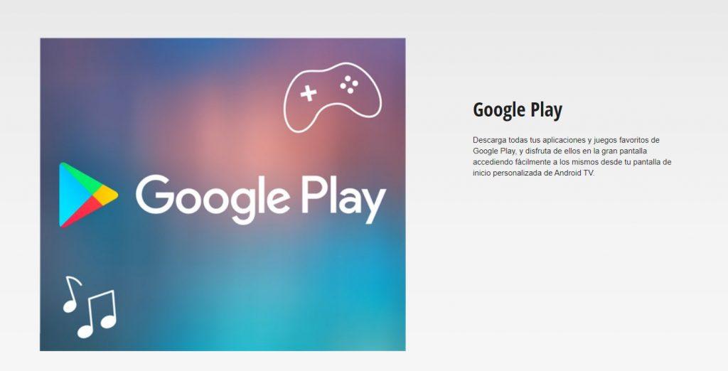 Con Android TV podrás acceder a todo lo que hay en la Play Store
