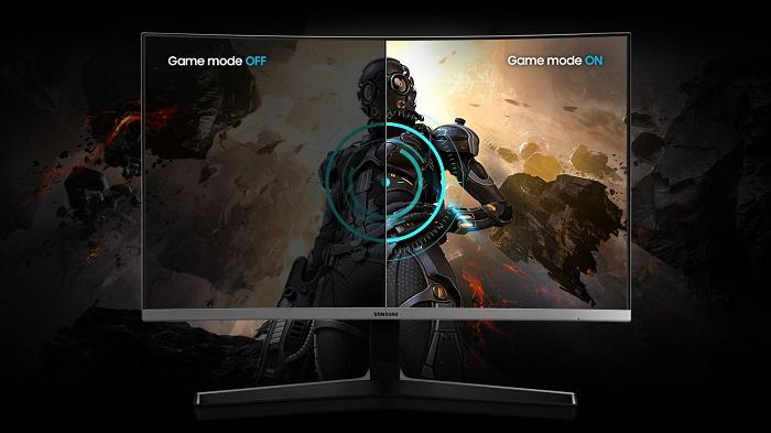 Samsung LC32R500FHUXEN, modo juego