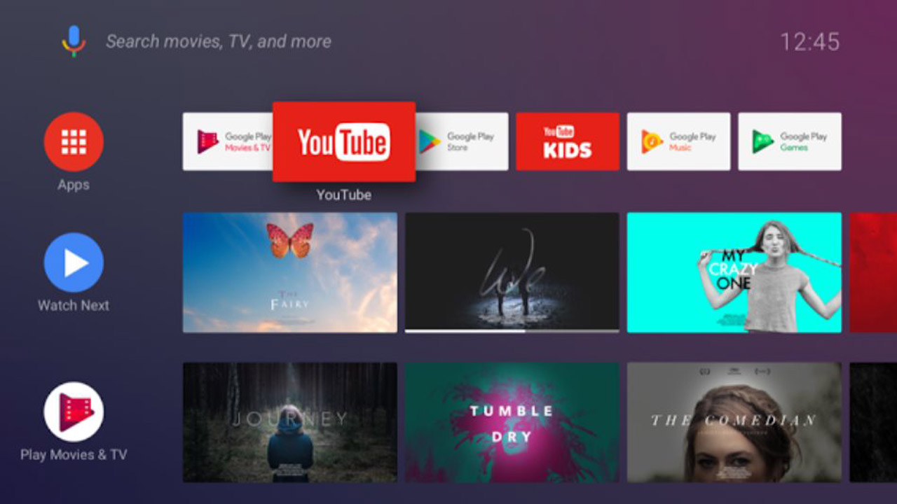 cambiar el launcher de Android TV