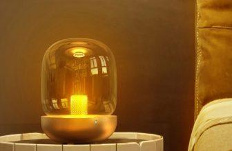lámpara altavoz