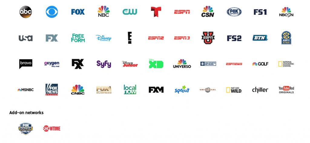 Estos son los canales que se disfrutan con la membresía a YouTube TV