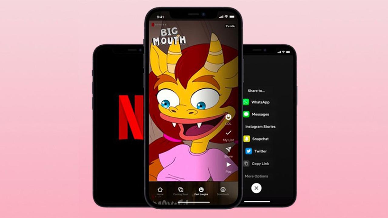 Fast Laughs de Netflix