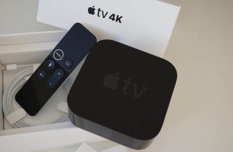 Apple TV con altavoz