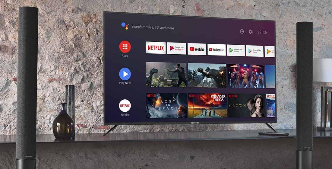 Infiniton INTV-50AF2300 - Android 9 Pie y aplicaciones