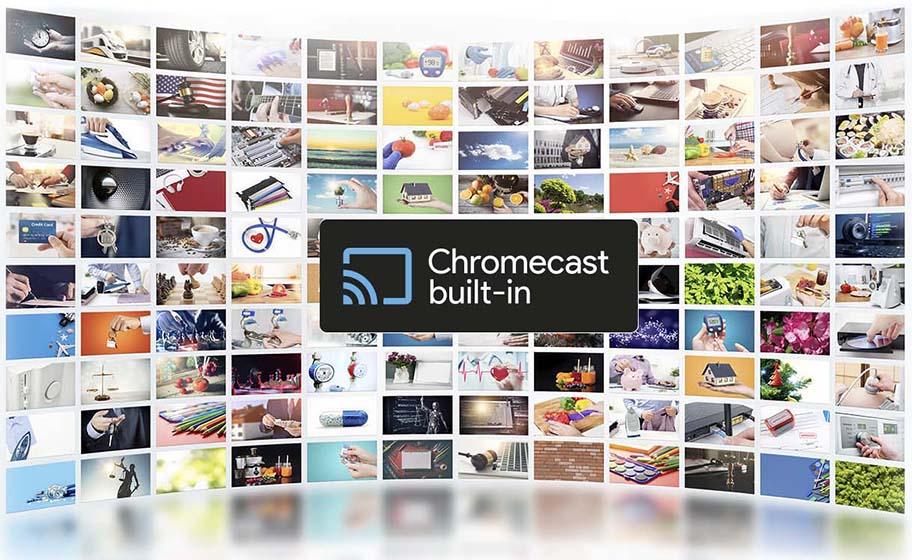 Infiniton INTV-50AF2300 - Chromecast
