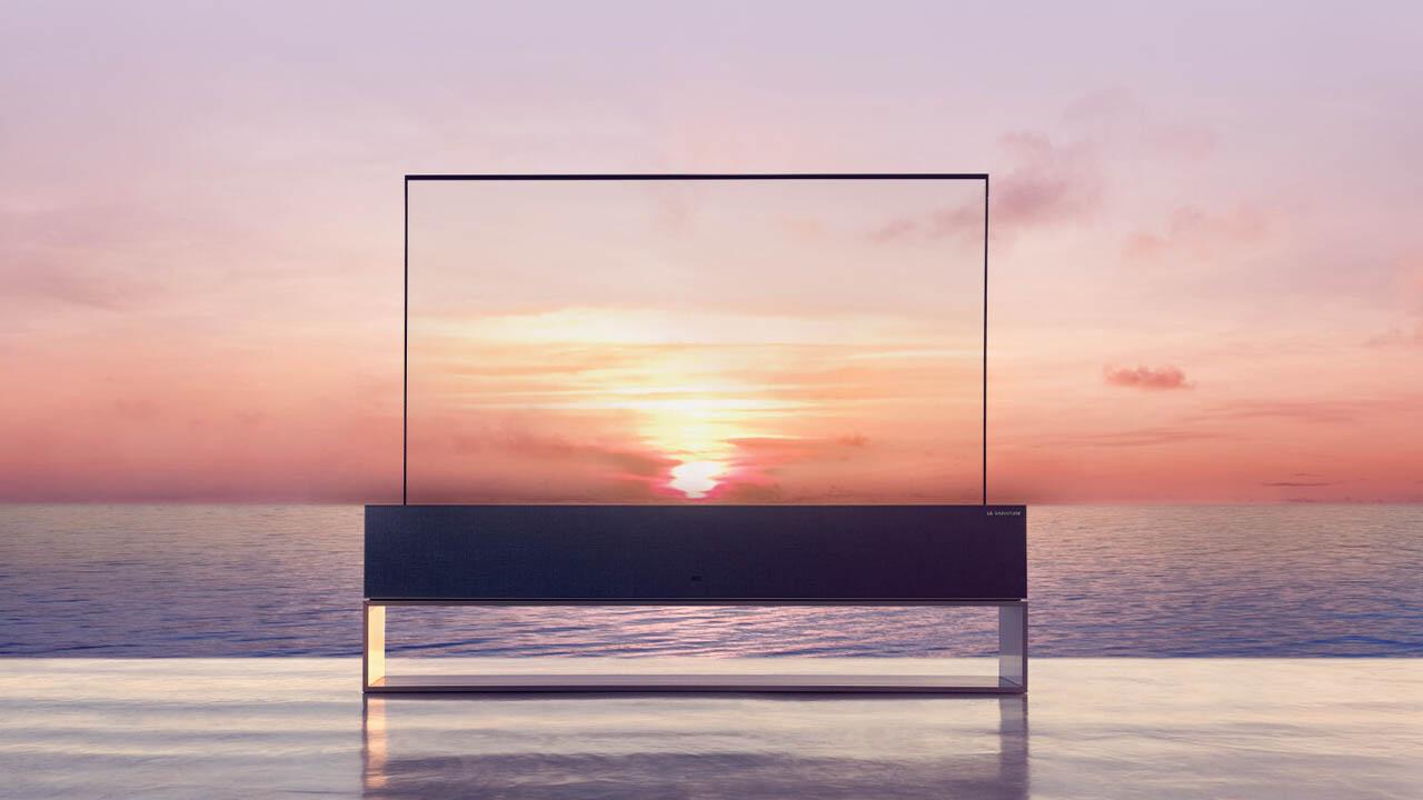 televisor enrollable en España