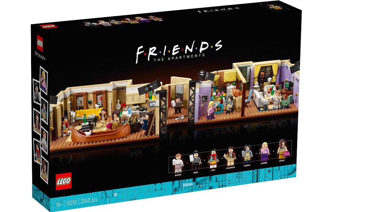 lego apartamento de friends