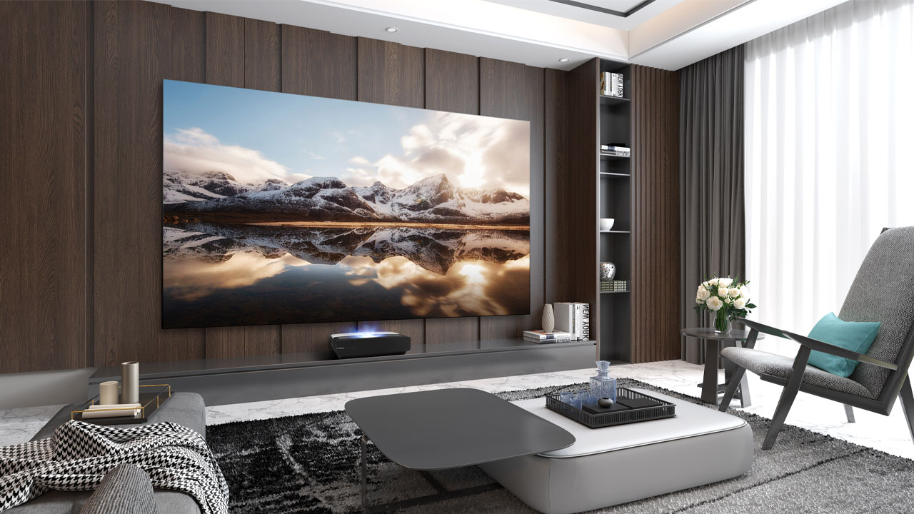 nuevos Laser TV de Hisense