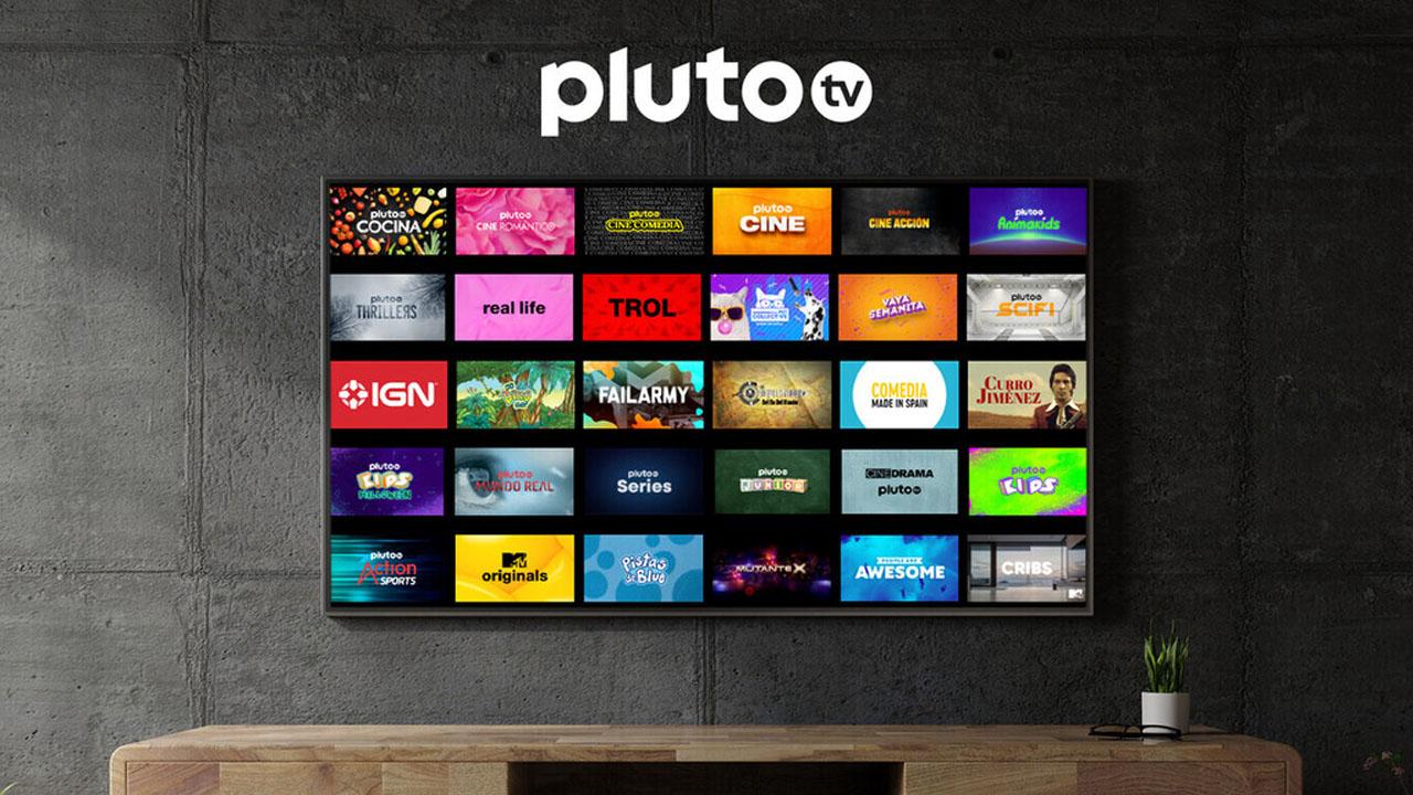 nuevos canales de Pluto TV
