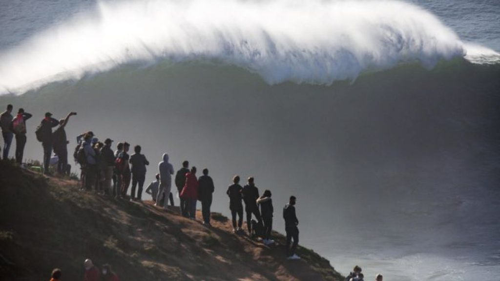 Se basa en la ola más grande captada en nuestro planeta