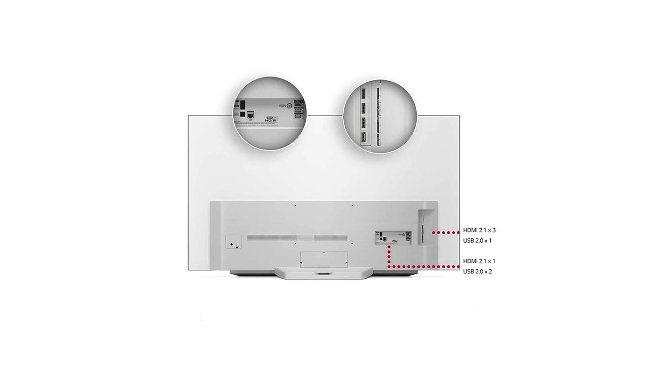 LG OLED65C1 diseño
