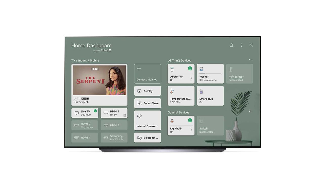 LG OLED65C1 Smart TV