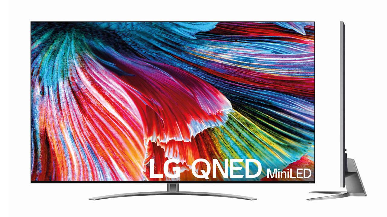 Especificaciones de los nuevos televisores QNED MiniLED de LG