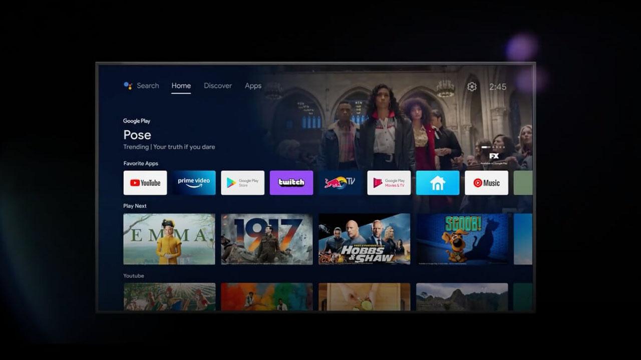 características de Android TV 12