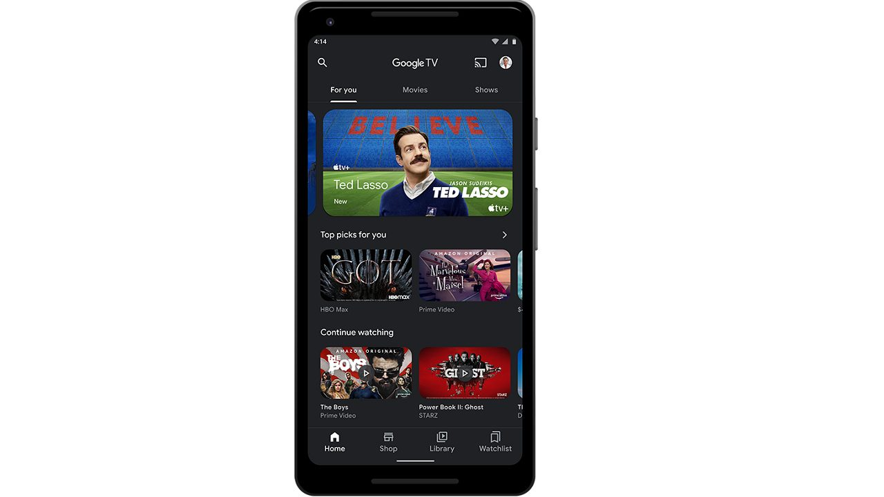 google tv android